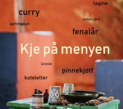 """Oppskriftshefte """"Kje på menyen"""" – medlemspris kr 25"""